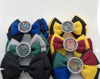 Harry Potter inspired hair bows, always