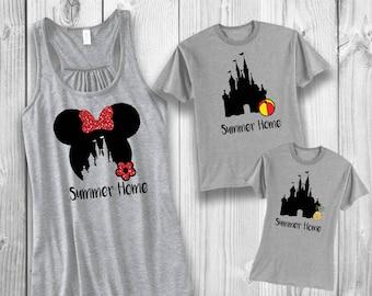 Summer home Disney shirt