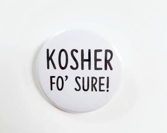 Kosher Button Or Magnet