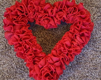 Valentines Day Wreath, Valentine's Day Wreath, Valentine, Valentine's, Valentine Heart, Hearts, Heart, Valentine's Decorations., Gifts