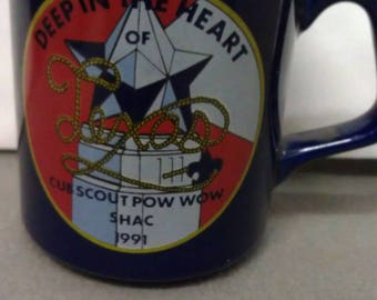 Deep in the Heart of Cub Scout Pow Wow SHAC Mug