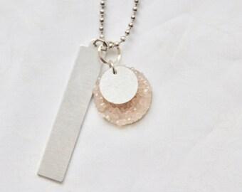 Mom Necklace, Mom Jewelry, Grandma Necklace, Grandma Jewelry, Family Jewelry, Family Necklace, Hand Stamped Jewelry, Personalized Jewelry,