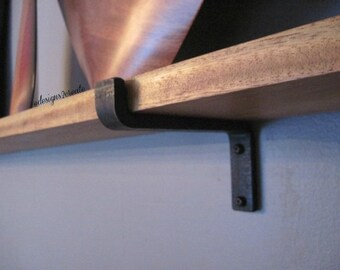Black Iron Shelf Bracket
