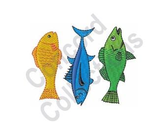 Fish - Machine Embroidery Design