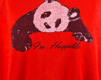 I'm Huggable - Panda Sweatershirt