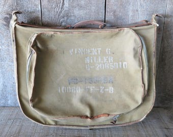 WWII Army Air Force Pilot Garment Bag Case