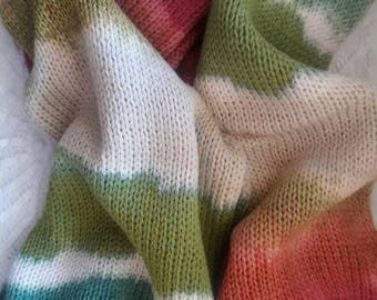 Victorian Christmas Sock Blank-double knit