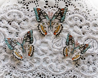Reneabouquets Butterfly Set - Phantasy Premium Paper Glitter Glass Butterflies