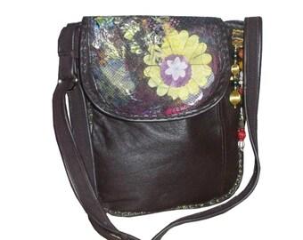 Leather Shoulder Bag, Handmade Leather Bag,Cross body bag,messenger bag,