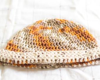 Autumn Colors Crochet Hat