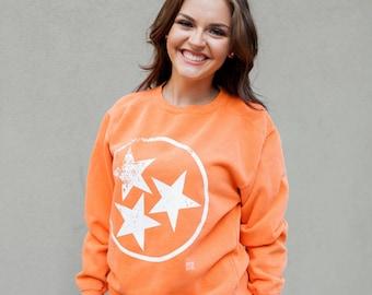 TriStar Comfort Colors Sweatshirt - Orange