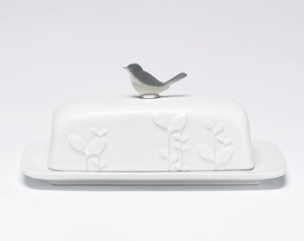 laurel butter dish