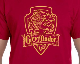 Harry Potter Gryffindor House Crest shirt