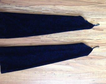 Belly Dance Gauntlets Dark Blue