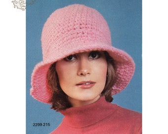 Crochet | crochet patterns | crochet hat | crochet hat pattern | Crochet Vintage Patterns