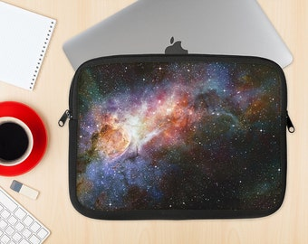 The Multicolored Space Explosion Dye-Sublimated NeoPrene MacBook Laptop Sleeve Carrying Case