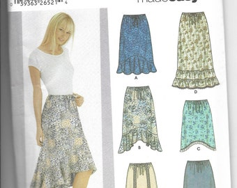 Simplicity | 5597 | Misses' Skirts with Length Variations | Uncut and Factory Folded