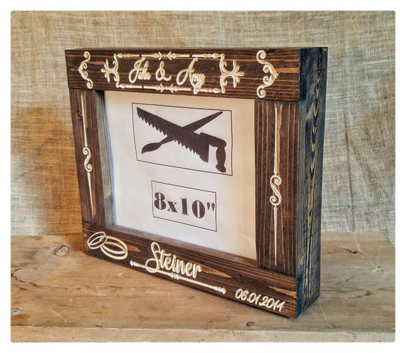Personalized Frame, Wedding Box Frame, Wedding Gifts, Wood Box Frame ...