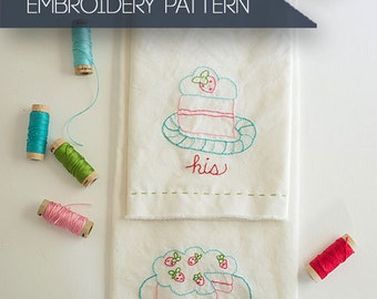 Have Your Cake Hand Embroidery Pattern
