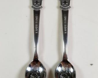 Rolex Lucerne Bucherer of Switzerland Silver Plated Spoon Original Box
