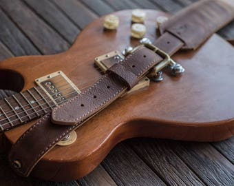 Handstitched Leather Guitar Straps | Made in the USA | Electric Guitar Straps | Acoustic Guitar Straps