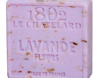 Soap SAVON de Marseille Lavender with blossoms, 100 gr