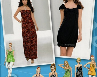 FREE US SHIP Simplicity 2622 Project Runway Dress  Sewing Pattern Strapless Evening Length Jr Size  3/4 5/6 7/8 9/10 11/12 13/14 15/16