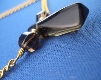 Smoky Quartz Chain Necklace