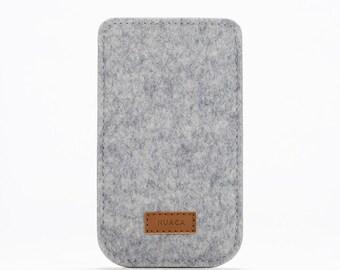 Felt Case iPhone 5 and 5s - iPhone Case - iPhone Cover - iPhone 5 and 5s Case - iPhone Sleeve - Cell Phone Case