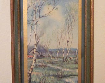 Wonderful Small Print of The Brook Copyright by The Knapp Co. 6x4