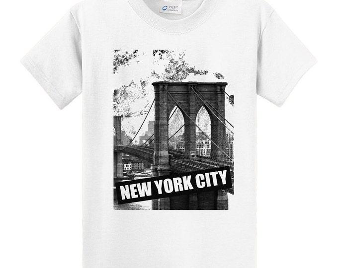 New York Brooklyn Bridge Travel T-Shirt