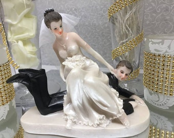 Wedding Couple Classic Cake Topper or Centerpiece Keepsake Choose