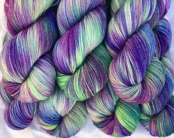 March Riot - Superwash Blue Faced Leicester 4 Ply 100g