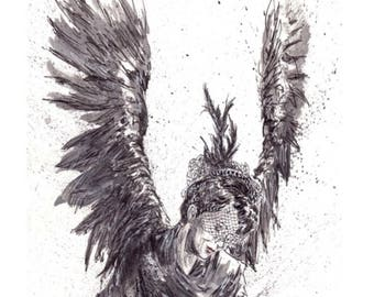 American Horror Story Angel of Death 11x14 Signed and Numbered Art Print