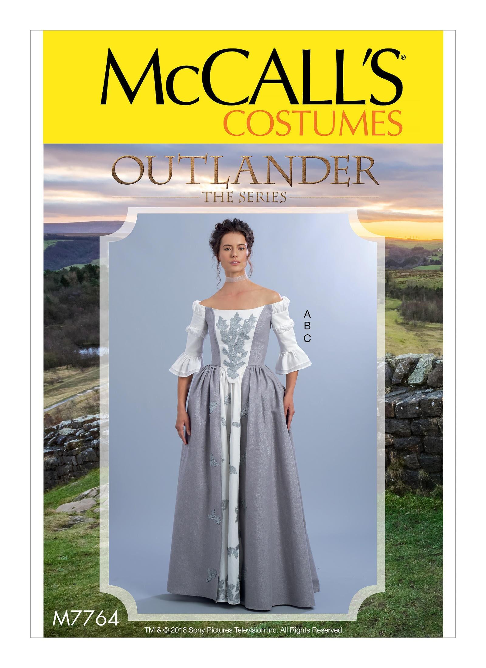 Outlander TV Wedding Dress