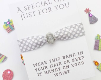 Gift - Charm Band - Friendship Band - Bride Gift - Flowergirl Gift - Bridesmaid Gift - Wedding Gift - Handmade Gift