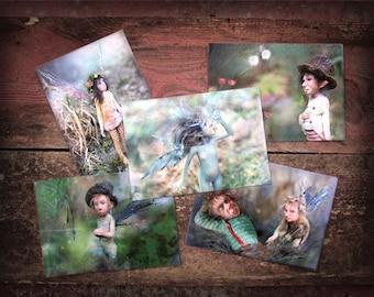Cards set of Tatjana Raum