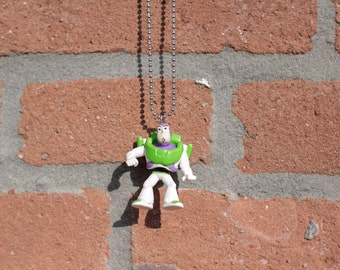 Toy Story: Captain Buzz Lightyear of Star Command on Ball Chain Necklace