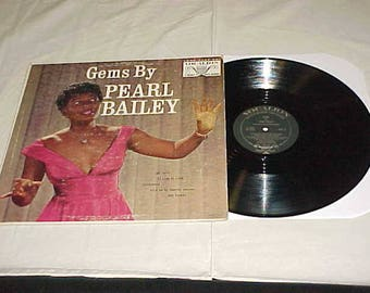 Pearl Bailey - 33 LP - Gems By Pearl Bailey