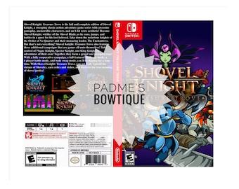 Custom Nintendo Switch Art Cover w/ Game Case - Shovel Knight: Treasure Trove