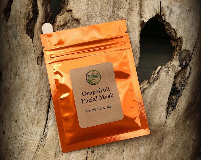 Vegan Skincare - Facial Mask for Kids - Grapefruit - Grapefruit products - Skincare - Mud masks - Facial masks - Vegan Skincare - Vegan gift