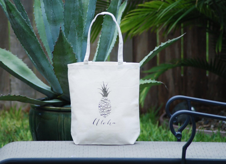 Hawaiian Wedding Gift Ideas: Personalized Hawaiian Aloha Wedding Welcome Bag Hawaiian