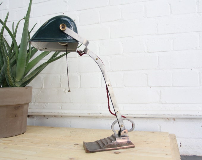 Bankers Desk Lamp By Horax Circa 1920s