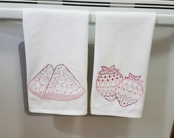 Watermelon Dish Towel
