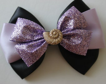 Sea Witch Ursula Inspired Bow