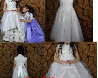 Flower Girl Dress ( Chinese Dresss style)