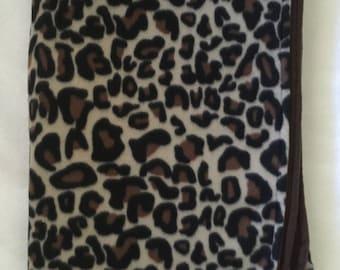 Cheetah Fleece Throw