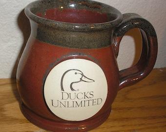 Ducks Unlimited Stoneware Coffee Mug