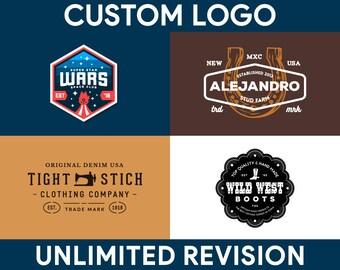 Company Logo, Vintage Logo, Custom Logo Design, Graphic Design, Professional Logo, Small Business, Shop Logo, Brand Logo, Logo Designer