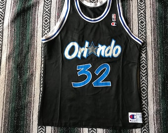 Vintage NBA Orlando Magic Shaquille O'neal Champion Jersey Size 44